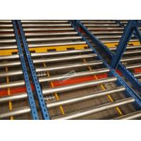 Wholesale R - Mark Approval 15 Pallet Deep Flow Rack Shelving For Large Volume Homogeneous Goods from china suppliers