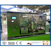 Wholesale 10000L / Day UHT Milk Processing Line With Milk Processing Unit 250 - 1000ml from china suppliers