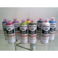 Non toxic Eco-friendly Artist Aerosol Spray Paint for Wood / Plastic / Metal Surface
