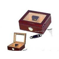 Humidor with Leather Apron