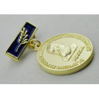 Quality 3D Iron or Brass / Copper Custom Awards Medals with Die Casting, High 3D and High Polishing for sale