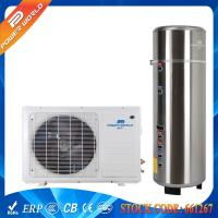Wholesale 55DegC Splinched 5kw Gas Cycle Domestic Air Heat Pump Water Heater 200-300L Pressure Tank from china suppliers