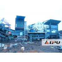 Wholesale Reasonable Matching Mobile Crushing Plant 54t Portable Rock Crusher from china suppliers