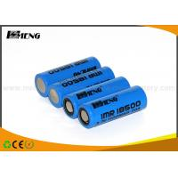 Wholesale Blue Flat Top 18650 Li - Ion Rechargeable Battery 3.7v 1100mah from china suppliers