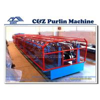 Wholesale CZ Purlin Cold Roll Forming Machine For 1.5mm - 3.5mm Thickness Carbon Steel from china suppliers