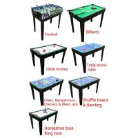 Wholesale 12 In 1 Multi Purpose Game Table Multicolor Design Table Tennis Pool Table from china suppliers