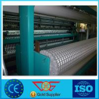 Wholesale Light Weight Fiberglass Geogrid Low Elongation For Harbours 80kn CE from china suppliers