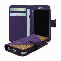 Buy cheap Braided leather case for iPhone 5 from wholesalers