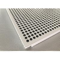Wholesale Akzo Nobel Powder Coated Matt White Finished Aluminium Suspended Ceiling Tiles from china suppliers