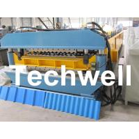 Wholesale Double Layer Roof Sheet Roll Forming Machine For Corrugated and Trapezoidal Sheets from china suppliers