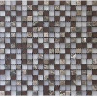 Buy cheap Glass Mix Stone Mosaic for Wall and Floor from wholesalers