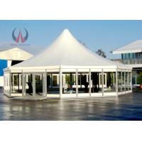 Wholesale White Membrane Frame Instant Canopy Party Tent , Customized Outdoor Patio Tent from china suppliers