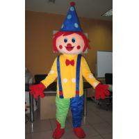Wholesale Custom Cartoon Character Clown mascot costumes with Good ventilation from china suppliers