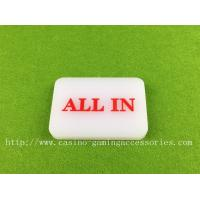 Wholesale Customizeable Non Toxic Casino Accessories Square Poker Dealer Button from china suppliers