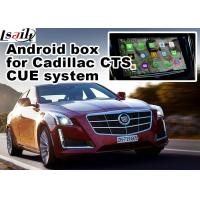 Wholesale Mirror link car navigation box for Cadillac CTS video interface box from china suppliers