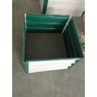 Wholesale Galvanised Steel Raised Garden Beds , Raised Vegetable Garden Boxes from china suppliers