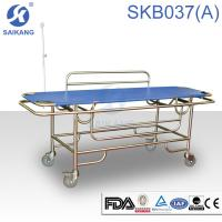 Wholesale Hospital Furniture:Patient Trolley.SKB037(A) Stainless Steel Patient Trolley from china suppliers