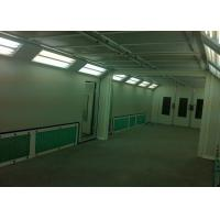 Wholesale Bodyshop Gas Burner Paint Spray Booth Roller Door Combined Mixing Room from china suppliers