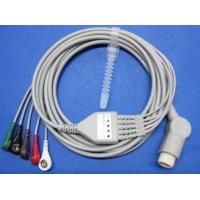 Wholesale TPU Mindray One - piece 5 - Lead ECG cable , Patient Monitor Accessories from china suppliers