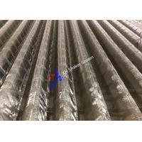 Wholesale 48-30 Corrugated Plus Replacement Shaker Screen for Mud Separator Oilfield from china suppliers