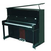 Wholesale Classic Solidwood 126cm Acoustic Upright Piano Black Polished AG-126C from china suppliers