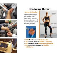 Wholesale Physiotherapy Equipments 22Hz Frequency  Shockwave Therapy Machine Knee Pain Relief from china suppliers
