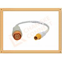 Wholesale 10 Pin Female IBP Invasive Blood Pressure Cable Siemens Draeger from china suppliers