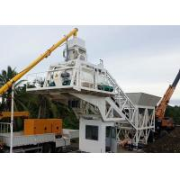 Wholesale Mobile Concrete Mixing Plant , Optimized Mini Cement Batching Plant Equipment from china suppliers