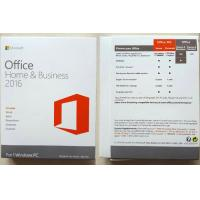 Wholesale Microsoft Office 2016 Professional Retail Version , Office 365 Product Key Card from china suppliers