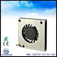 Wholesale Axially Grooved Bearing Computer Equipment Cooling Fans 0.4mm Thick from china suppliers