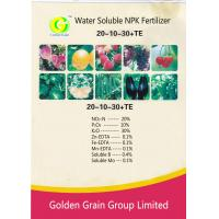 Wholesale Water Soluble NPK Fertilizer 20-10-30+TE from china suppliers