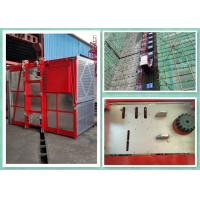 Heavy Duty 2 Tons Construction Site Elevator Equipment Goods Hoist 0-34m/Min Speed