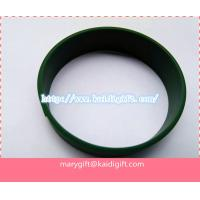 Wholesale Embossed silicone bracelet/colorful silicone bracelets/silicone wristband from china suppliers