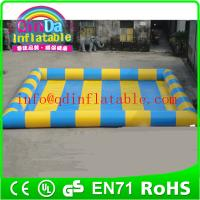 Wholesale inflatable pool giant inflatable water pool hot water inflatable pool for kids from china suppliers