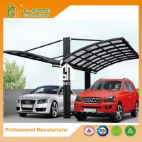 Quality 550 X 600 X 230CM White Color Easy DIY Polycarbonate & Aluminum Carport for sale