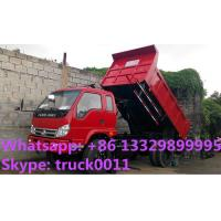 Wholesale 95 HP 4*2 FORLAND Small Dump Truck for sale 3 ton, factory direct sale forland brand 4*2 RHD mini dump truck for sale from china suppliers