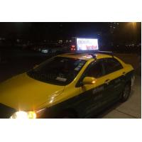Wholesale Advertising Taxi LED Display P5 , Outdoor Taxi Top Video LED Display 3G/4G/Wifi Control from china suppliers