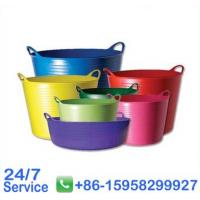 Home collapsible high class flexible plastic basket with OEM and ODM - BN6003-35L