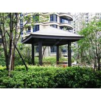 Wholesale plastic wood gazebo for sale OLDA-6002 5m*5m*3.9m (16ft.*16ft.*13ft.) from china suppliers