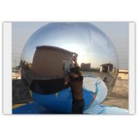 Quality Inflatable Mirror Ball , Silver Reflective Ball , Inflatable Mirror Balloon Silver for sale