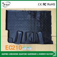 Wholesale DH60-7 Rubber Pickup Floor Mats , Custom Floor Mats Black Carpet from china suppliers