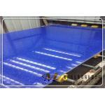 China Cyrstal Blue Quartz Stone Slabs for sale