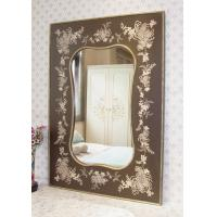 Wholesale Decorative vintage framed wooden wall Mirror from china suppliers