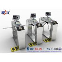 Wholesale TCP / IP Door Security Access Control Turnstiles RFID Automatic Tripod Turnstile Gate from china suppliers