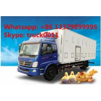 Wholesale CLW brand baby chick transported truck for sale, hot sale LHD/RHD CLW brand day old chick/duck/goose transported truck from china suppliers