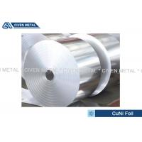 Wholesale Thermal Stability CuNi44 Copper Nickel Alloy Foils FOR marine equipment from china suppliers