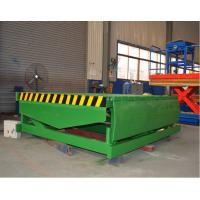 Wholesale Fixed Hydraulic Truck Ramp Automatic Dock Levelers with Anti Skid Checkered Steel Plate from china suppliers