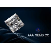 Wholesale 2 Carat VVS1 Princess Square Moissanite White High Reflective from china suppliers