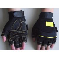 Wholesale Synthietic leather palm Automotive, Oil industry Protective safty Mechanic Work Gloves from china suppliers