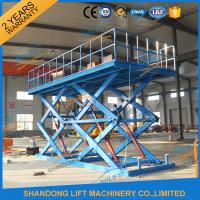 Wholesale Adjustable hydraulic stationary warehouse mechanical scissor lift China from china suppliers